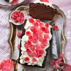 Chokladkaka - recept till Alla hjärtans dag | Mitt kök Chocolate Heaven, Banana Cream, No Bake Cake, Fruit, Vegetables, Healthy, Desserts, Cream Pies, Cakes