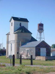 Stuart, Nebraska - Photo by courthouselover.