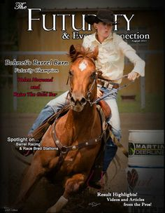 Kathleen has been a graphic designer for over 20 years, joining photography to her set of skills was just a logical move. Barrel Racing, Derby, Barn, Horses, Magazine, Graphic Design, Photography, Animals, Photograph