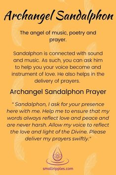 Prayers Of Gratitude, Spiritual Prayers, Prayers For Healing, Mom Prayers, Archangel Raphael Prayer, Archangel Prayers, Archangel Michael, Archangel Sandalphon, Archangel Zadkiel