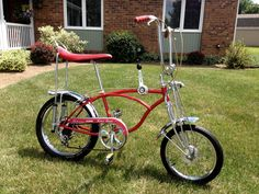 "1970s schwinn stingrays | 1970 Schwinn ""Apple Krate"" Stingray Original Bicycle Atom Drum ..."