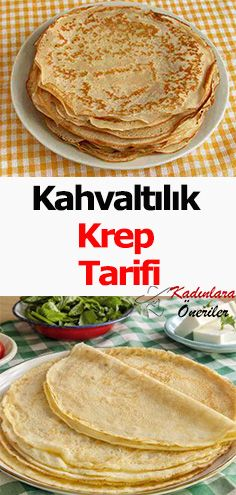 Kahvaltınızda kolay pratik ve lezzetli bir krep tarifi yapmak isterseniz sayfa… If you want an easy, practical and delicious pancake recipe for breakfast, you can visit our page. Yummy Pancake Recipe, Tasty Pancakes, Breakfast Pancakes, Breakfast Recipes, Shrimp Recipes, Salad Recipes, Fiber Foods, Food Design, Food Pictures