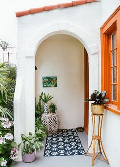 Arched windows and doors for spanish decor