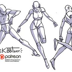 kibbitzer is creating A massive collection of reference sheets! Action Pose Reference, Figure Drawing Reference, Art Reference Poses, Anatomy Reference, Reference Images, Hand Reference, Character Poses, Character Drawing, Character Design
