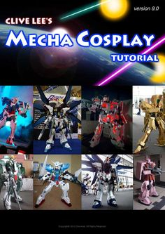 General Gundam/Mecha Cosplay Tutorial