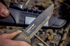 Morakniv Bushcraft Survival Knife | Men's Gear