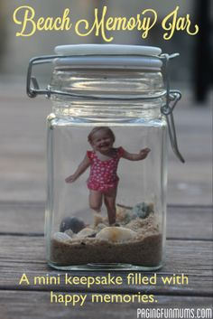 DIY Beach Memory Jar