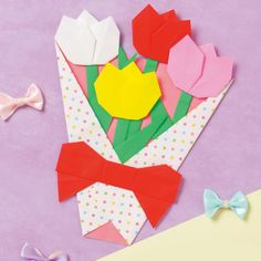 Origami for Everyone – From Beginner to Advanced – DIY Fan 5 Min Crafts, Diy And Crafts, Crafts For Kids, Paper Crafts, Useful Origami, Origami Easy, Kindergarten Crafts, Preschool Crafts, Mothers Day Crafts