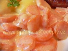 Dušená mrkev Cantaloupe, Shrimp, Peach, Candy, Fruit, Food, Essen, Peaches, Meals