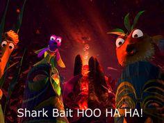 Shark Bait ooh-ba-ba-doo ... memories from classtime :)