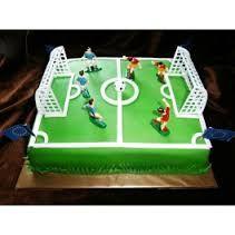 Znalezione obrazy dla zapytania tort boisko piłkarskie