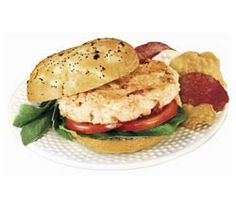 Chicken of the Sea's Sammie Burgers Recipe - Made this recipe with the larger can without the onion and just ate as a salmon patty no bun. I even added a pinch of cayenne pepper too.