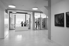 Umbau Verwaltung KZ-Gedenkstätte Dachau - interior transparency