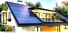 ADS Solar specializes in the installation of PV solar modules in Sydney, Australia.ADS Solar specializes in the installation of PV solar modules in Sydney, Australia. They offer a wide range of solar systems Beautiful Modern Homes, Beautiful Images, Solar Panels For Home, Solar Power For Home, Solar Panels On Roof, Pv Panels, Solar Roof Tiles, Roof Panels, Solar Panel Installation