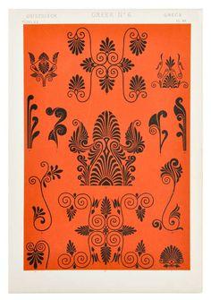 Ornamental Pattern Prints at Leif