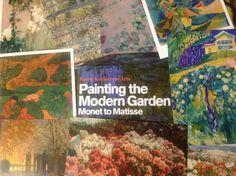 Painting the Modern Garden - Monet to Matisse. Fantastisk flot udstilling på Royal Academy of Arts som vi har set her i London.