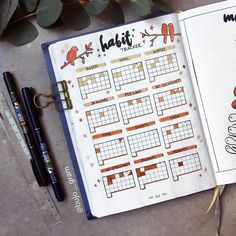 They say never change a winning team don't they?🙈 So since my habit tracker from last month worked out so well for me I decided to use the… Bullet Journal November Ideas, Bullet Journal Inspiration, Self Care Bullet Journal, Bullet Journal Notes, Journal Pages, Journal Ideas, Journals, Bullet Journal Headers, Bujo