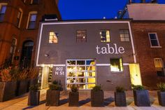 Table - a new & impressive DC restaurant we need to try!
