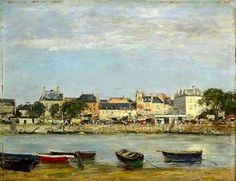 Eugène Louis Boudin - The Port of Trouville - - Yale University Art Gallery - Category:Paintings by Eugène Boudin - Wikimedia Commons Eugene Boudin, Manet, Art Database, Oil Painting Reproductions, Classical Art, Painting & Drawing, Art Gallery, Current Location, Degas