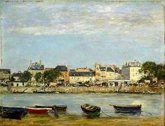 (7) Arte Moderna Eugene Boudin 1888-95