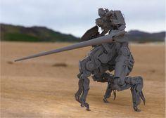 ArtStation - Knight Lancer, Gavin Manners