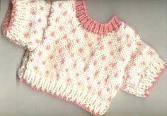 tiny hearts sweater