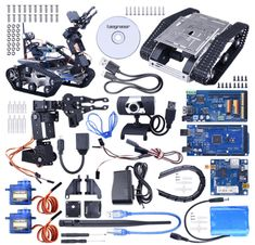 Top 15 Best Arduino Robot Kits for Beginners - PintoPin Hobby Electronics, Electronics Projects, Arduino Bluetooth, Robotics Projects, Best Arduino Projects, Mobile Robot, Arduino Programming, Robot Kits, Diy Tech