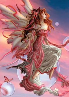 "Faeries, come take me out of this dull world, For I would ride with you upon the wind, Run on the top of the dishevelled tide, And dance upon the mountains like a flame. ~William Butler Yeats, ""The Land of Heart's Desire,"" 1894"