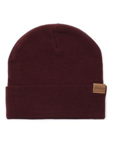 New In   Dickies Alaska Beanie in Maroon   Shop all men's clothing at The Idle Man