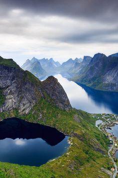 ponderation: Reinebringen, Lofoten, Norway by svenbroeckx