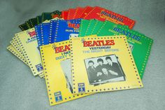 24 of 36 Beatles 1976 French 45rpm Set- EMI Odeon Pathe Marconi - Oldies Goldies #BritishInvasionPsychedelicRockRocknRoll