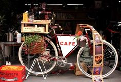 Cycling Coffee Shops - Charrie's Cafe Gives On-the-Go Beverages New Meaning (GALLERY)