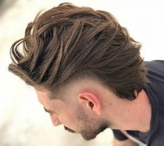 Wavy Mullet And Wavy Mullet Top 40 Modern Mullet Hairstyles For Men Classic Mullet For Men Top Hairstyles For Men, Mohawk Hairstyles Men, Mullet Haircut, Mullet Hairstyle, Haircut Styles, Long Hair On Top, Long Hair Cuts, Short Hair, Flat Top Haircut