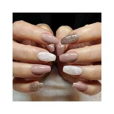 Simple #winternails for the win! Treat yourself to a winter mani/pedi this week! (513) 783-4597 #middletownsalon #nailspiration #repost #winternails #goldnails #sparklynails [[these nails were not done at Kelly's! Reposting them from Pinterest for #inspir