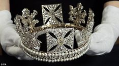 The Queen's famous diamond diadem is to go on display in a Jubilee exhibition at Buckingham Palace