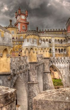 In historic Sintra, Portugal.