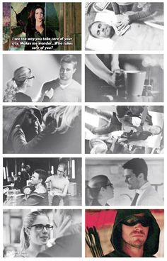 #Olicity #3.7 <3 Arrow - Oliver and Felicity