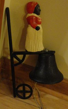 Vintage Cast Iron Black Americana Mammy Bell by tennesseehills, $20.00