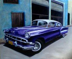 Chevrolet 1954 en la bodeguita