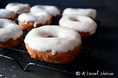 Sweet Corn Donuts with Salted Butter Frosting | A Local Choice
