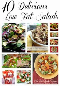 You Brew My Tea: 10 Delicious Low Fat Salads