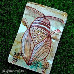 355/365 #365чай_фаранчук ⠀ #juliafaranchukru #рисование #drawing #art #чайныйпакетик #творчество #creativity #проект365 #365чай #teabagart… Tea Bag Art, Drawing, Sketches, Drawings, Draw