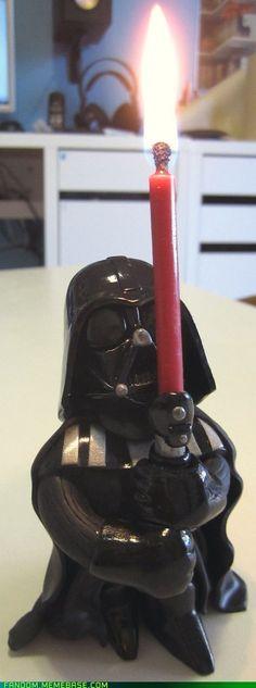 Star Wars - Darth Vader Candle