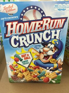 capn crunchs homerun crunch cereal - Captain Crunch Halloween