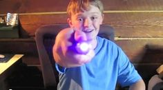 Make your own Sonic Screwdriver. This kid is awesome! I'm an EE, but I was NOT this into DIY electronics at that age.