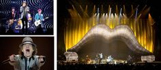 Clay Paky Fixtures Rock with the Rolling Stones on 50th Anniversary Tour | LIVE-PRODUCTION.TV