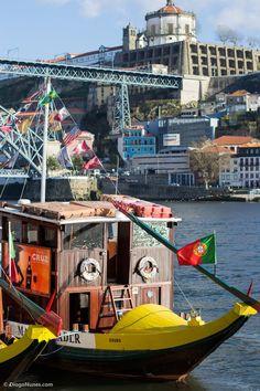Barco Rabelo www.webook.pt #webookporto #porto #rabelo