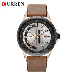 b7c00e82129 Top Brand Mens Quartz Watches Blue Creative Unique Fashion Design Wrist  watch Leather Strap Date Week Clock Reloj Male