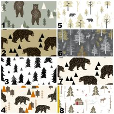 Hey, I found this really awesome Etsy listing at https://www.etsy.com/listing/257291391/woodland-forest-crib-bedding-mini-or