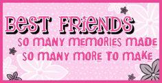 best friends   Myspace Graphics > Friends > best friends quote Graphic